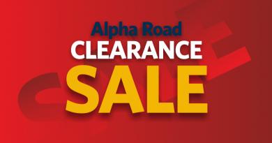 Sale on at Alpha Road