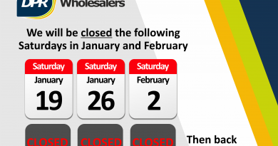 Temporary Saturday Closures