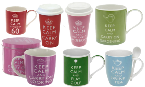 'Keep Calm' range