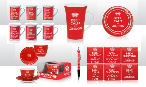 'Keep Calm in London'