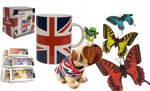 Novelty goods and gifts